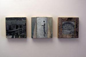 Bildleiste aus alten Druckstöcken